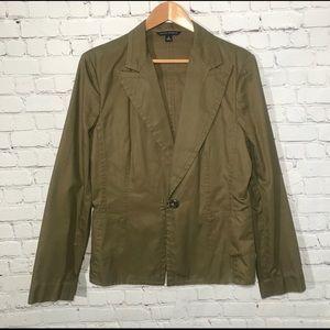 NWOT Banana Republic | Green Blazer Size 16